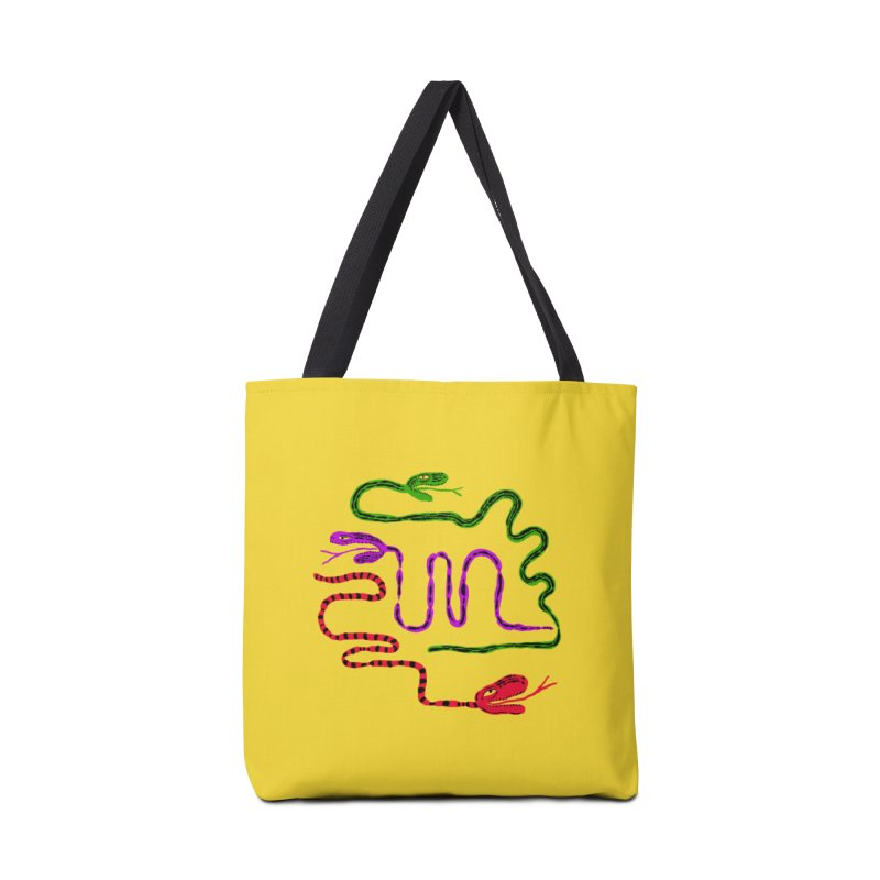 Snake Party Accessories Tote Bag Bag by Ermina Takenova