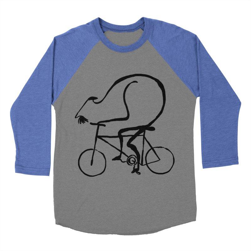 Cyclist Men's Baseball Triblend T-Shirt by Ermina Takenova