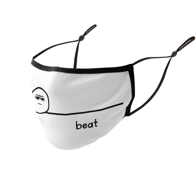 beat Accessories Face Mask by ernio's art Shop ⓔ