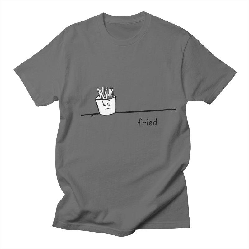 fried Men's T-Shirt by ernio's art Shop ⓔ