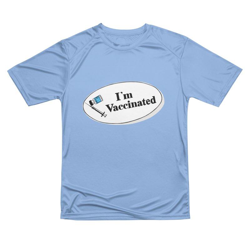 I'm Vaccinated Men's T-Shirt by ernio's art Shop ⓔ