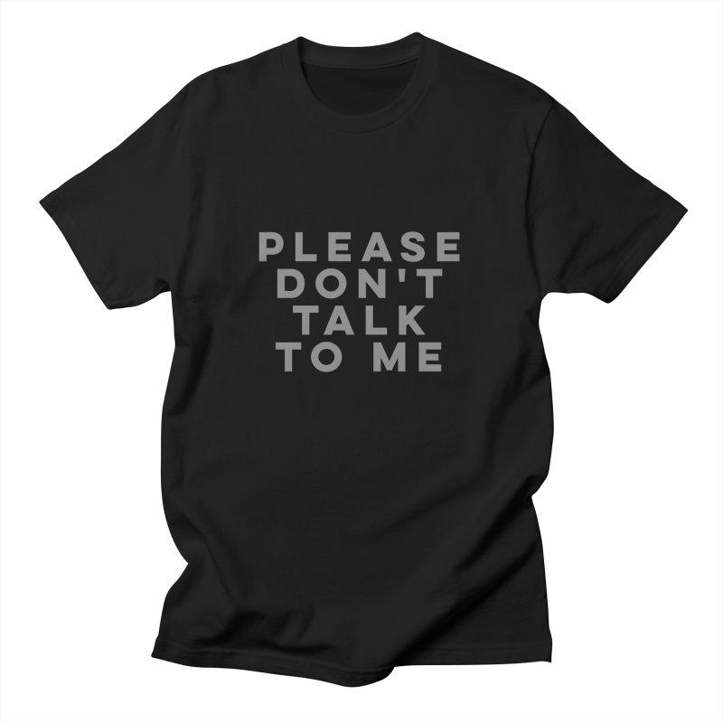 Introvert Anti-Social Survival Shirt Men's T-shirt by ernio's art Shop ⓔ