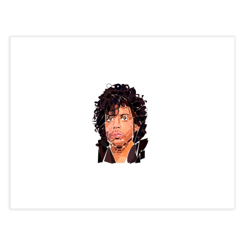 Geometric Prince Home Fine Art Print by ernio's art Shop ⓔ