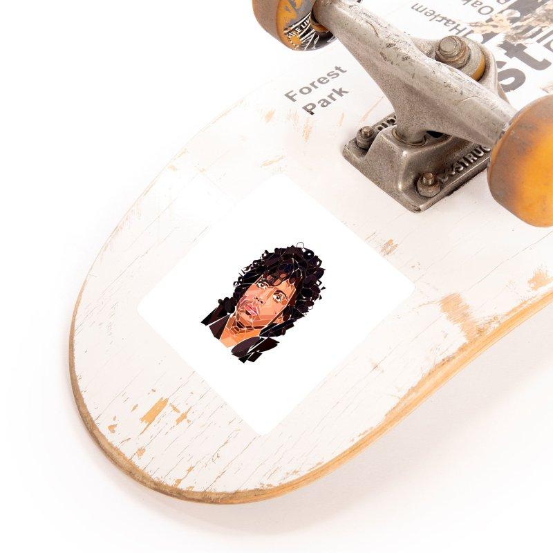 Geometric Prince Accessories Sticker by ernio's art Shop ⓔ