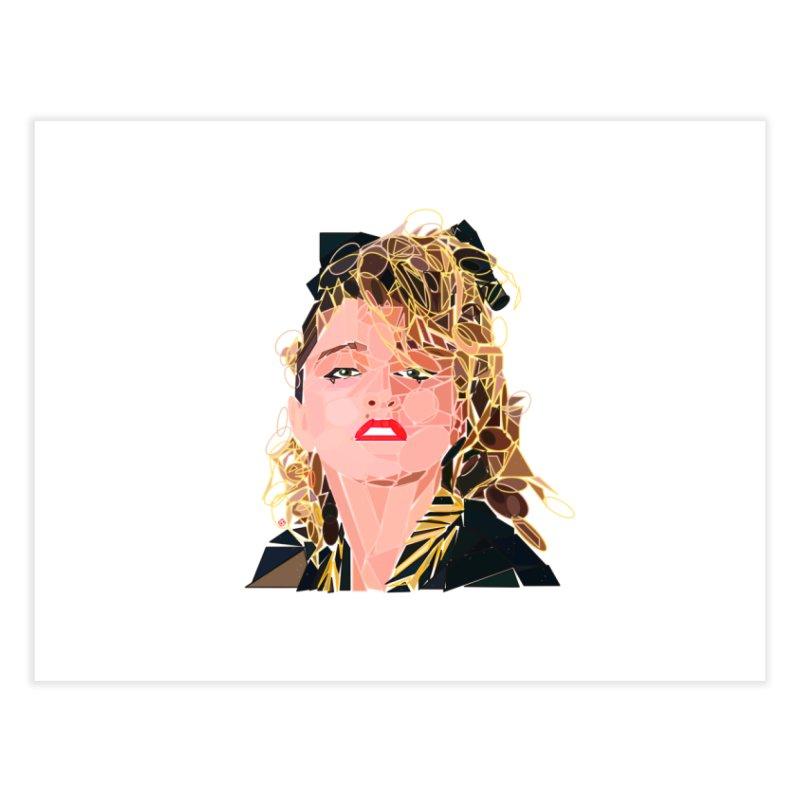 Geometric Madonna Home Fine Art Print by ernio's art Shop ⓔ