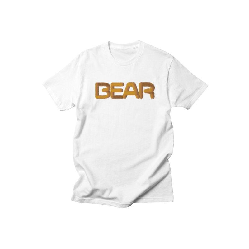 BEAR Men's T-Shirt by EROTICCO Shop