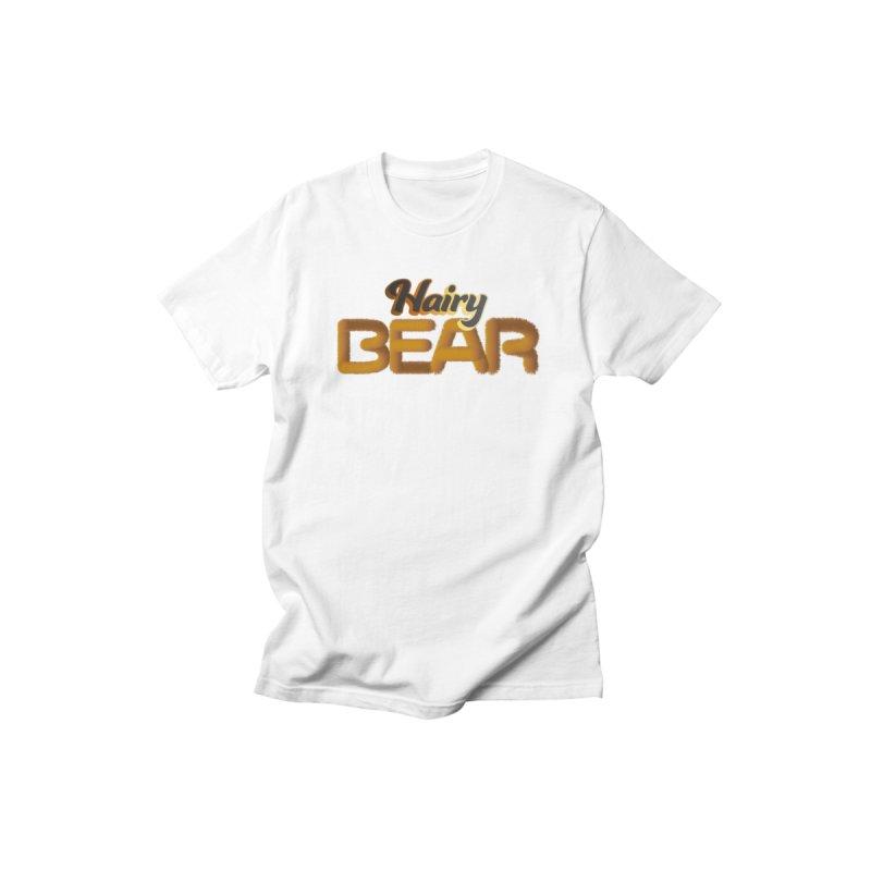 Hairy BEAR Men's T-Shirt by EROTICCO Shop