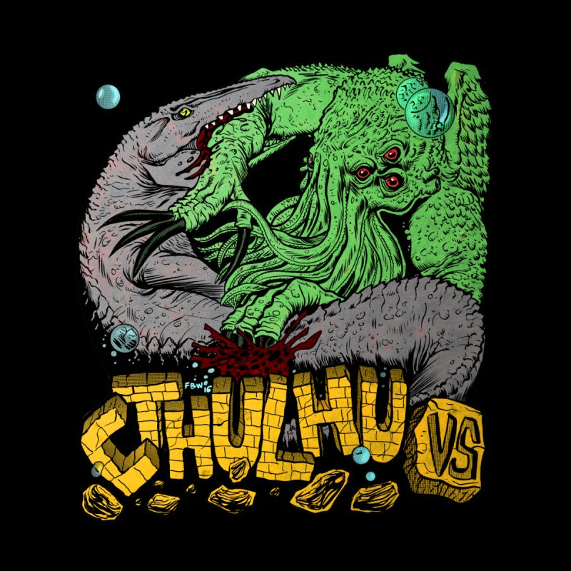 Cthulu Vs. (color) by Red Robot