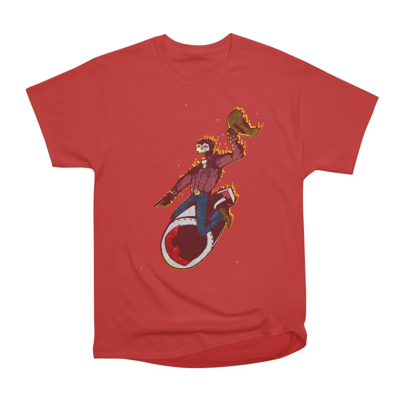 F-Bomb in Men's Classic T-Shirt Red by Red Robot