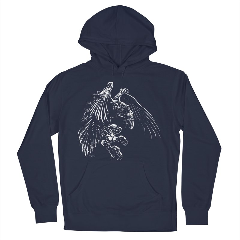 Raven Skin Women's Pullover Hoody by Red Robot