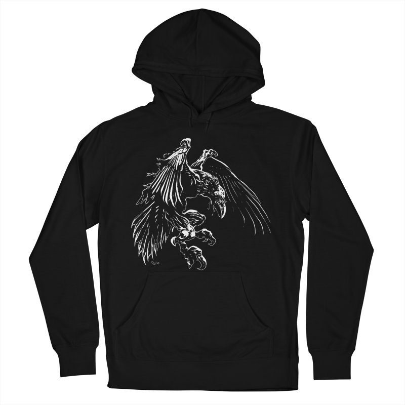 Raven Skin Men's Pullover Hoody by Red Robot