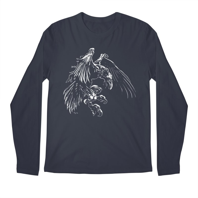 Raven Skin Men's Longsleeve T-Shirt by Red Robot