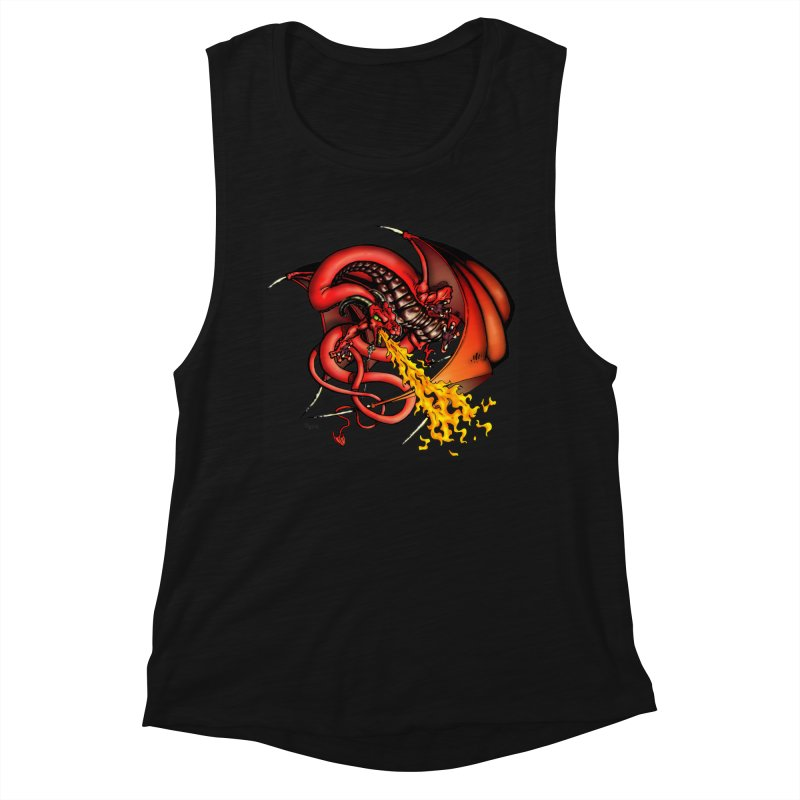 Red Dragon Women's Tank by Red Robot