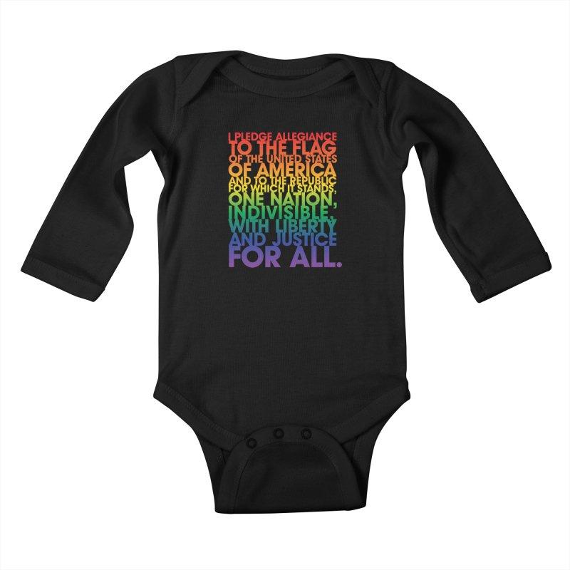 Pledge Kids Baby Longsleeve Bodysuit by Red Robot
