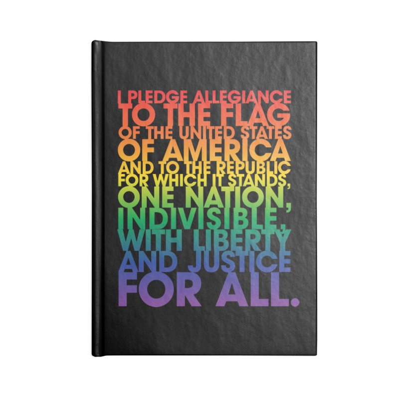 Pledge Accessories Lined Journal Notebook by Red Robot