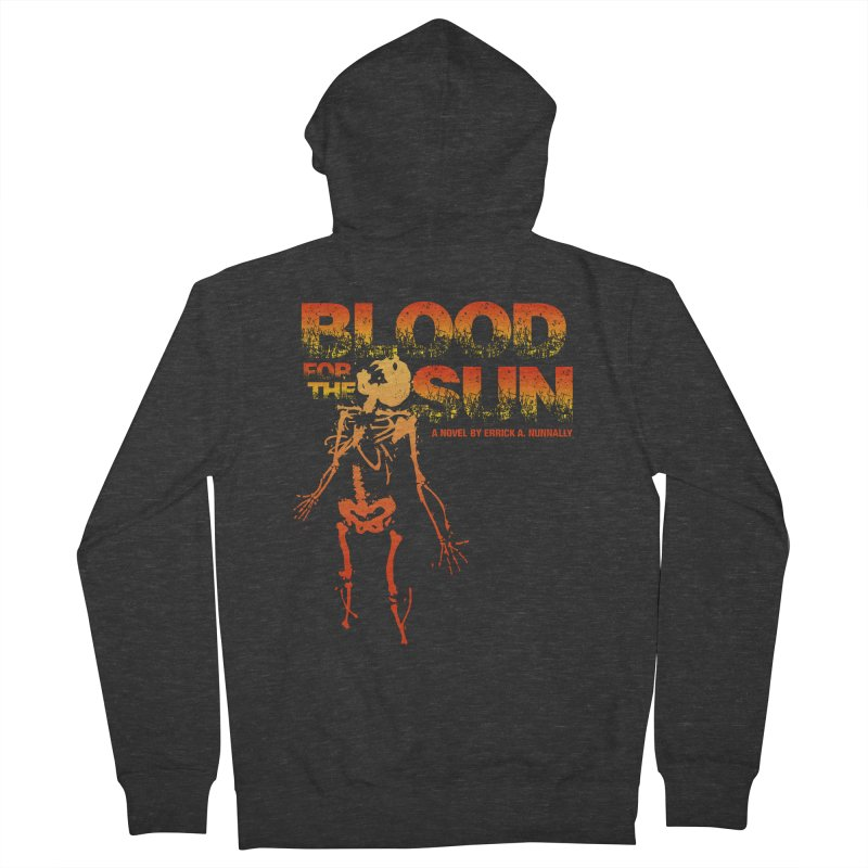 Blood for the Sun Men's French Terry Zip-Up Hoody by Red Robot