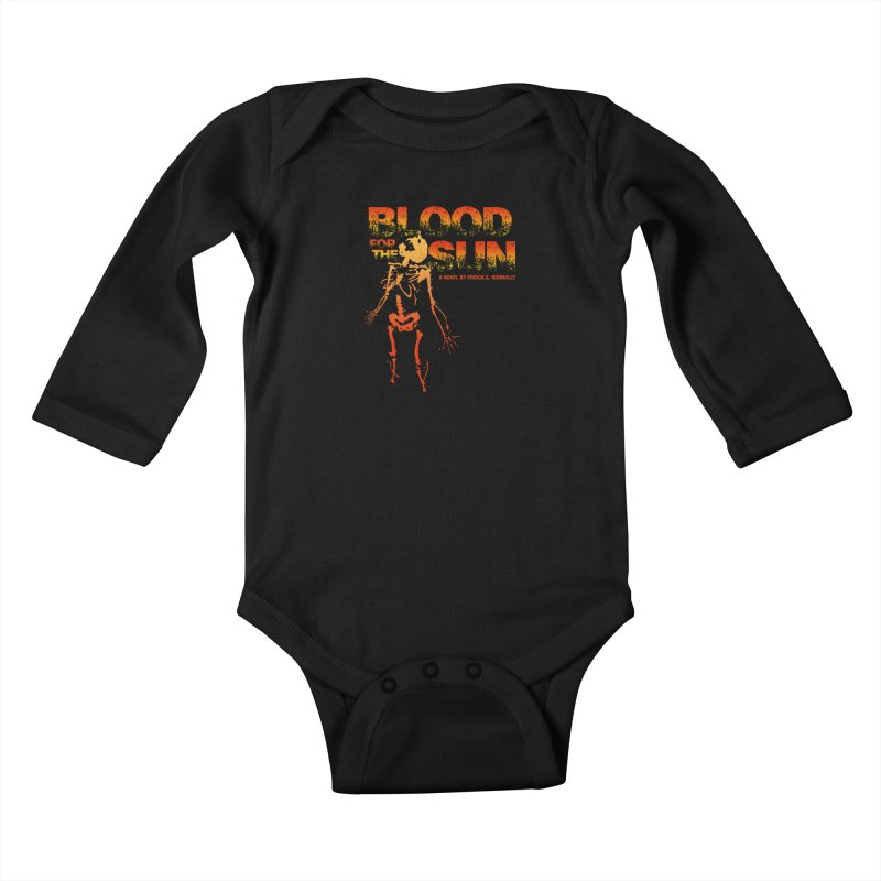 Blood for the Sun Kids Baby Longsleeve Bodysuit by Red Robot