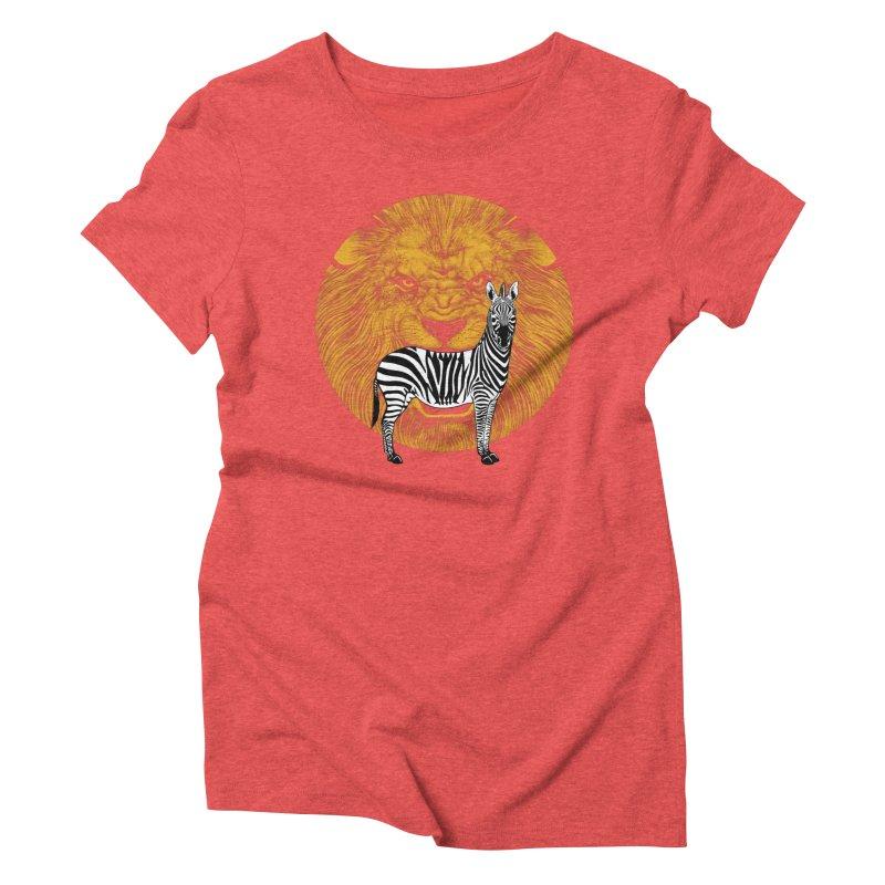 Prey Women's Triblend T-shirt by Ersin Erturk