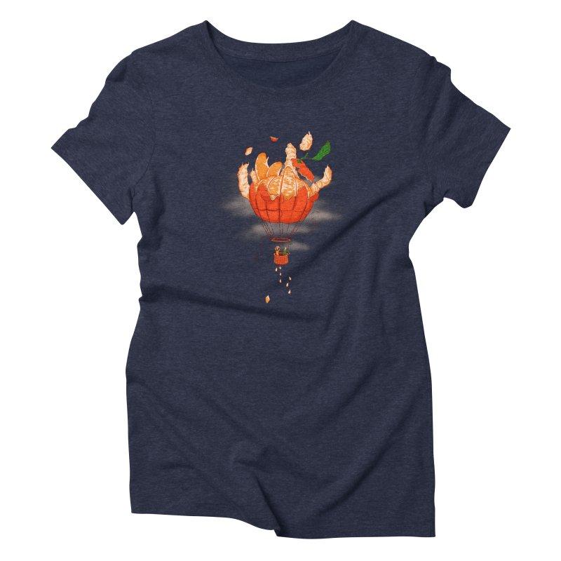 Tangerine Dream Women's Triblend T-shirt by Ersin Erturk