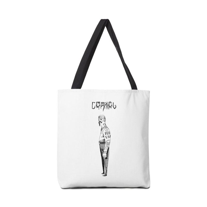 Por Vida Accessories Tote Bag Bag by Ertito Montana