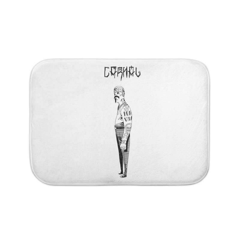 Por Vida Home Bath Mat by Ertito Montana