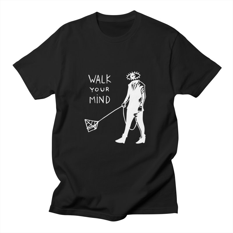 Walk your mind Men's Regular T-Shirt by Ertito Montana