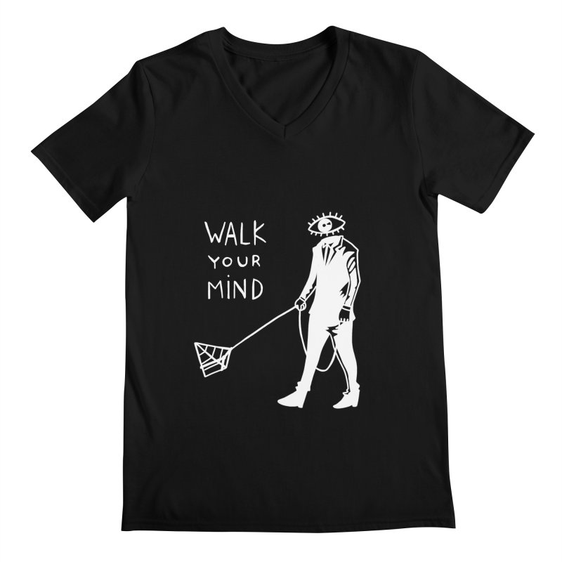 Walk your mind Men's V-Neck by Ertito Montana