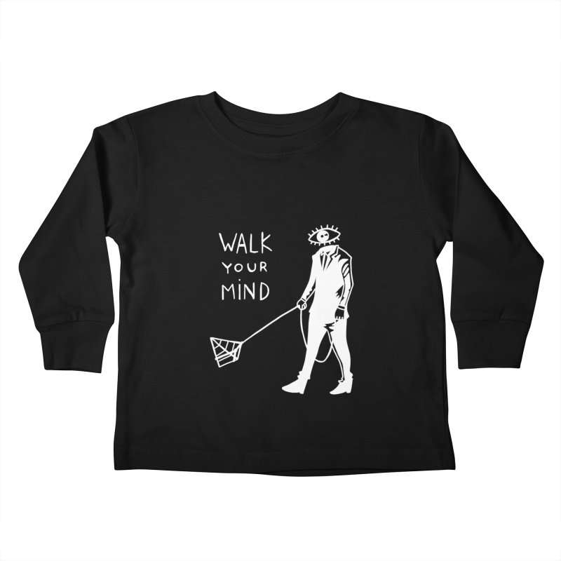 Walk your mind Kids Toddler Longsleeve T-Shirt by Ertito Montana