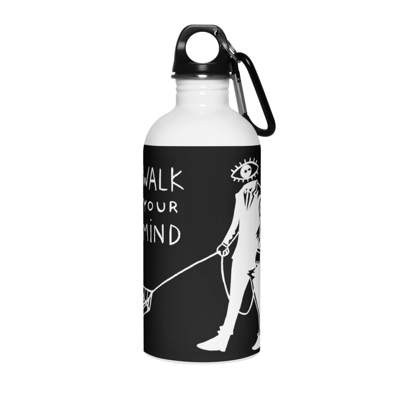 Walk your mind Accessories Water Bottle by Ertito Montana