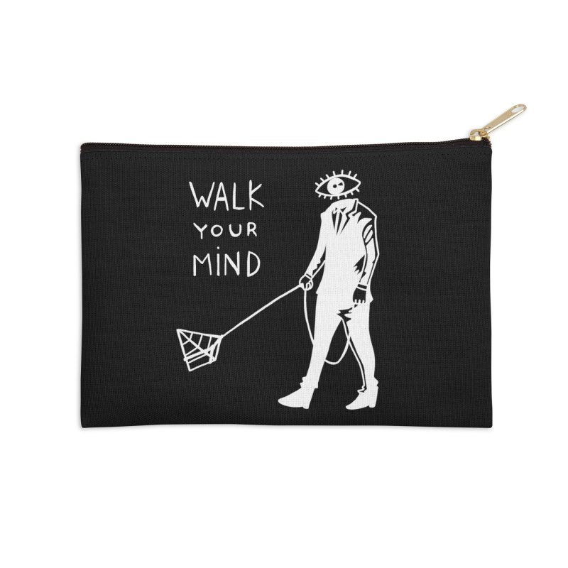 Walk your mind Accessories Zip Pouch by Ertito Montana