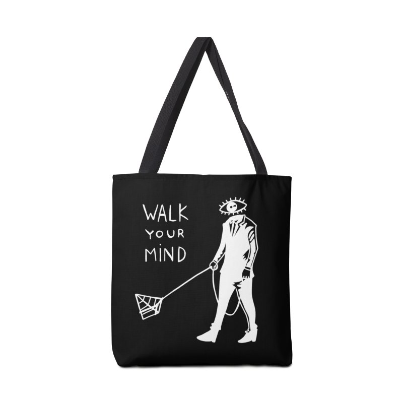 Walk your mind Accessories Tote Bag Bag by Ertito Montana