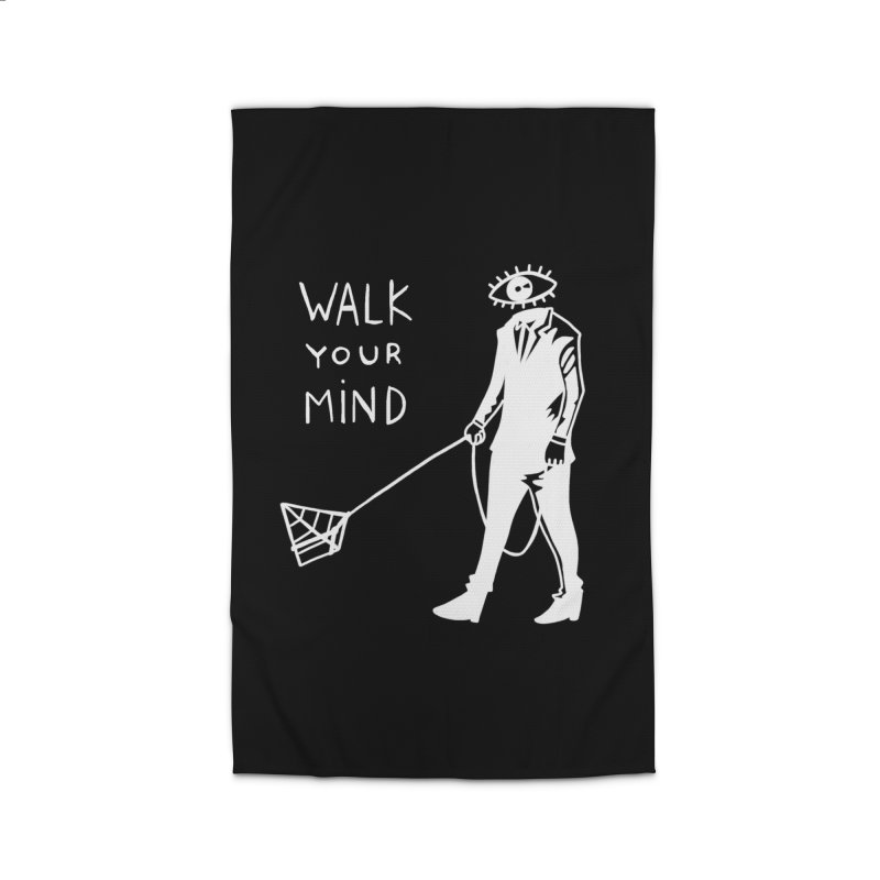 Walk your mind Home Rug by Ertito Montana