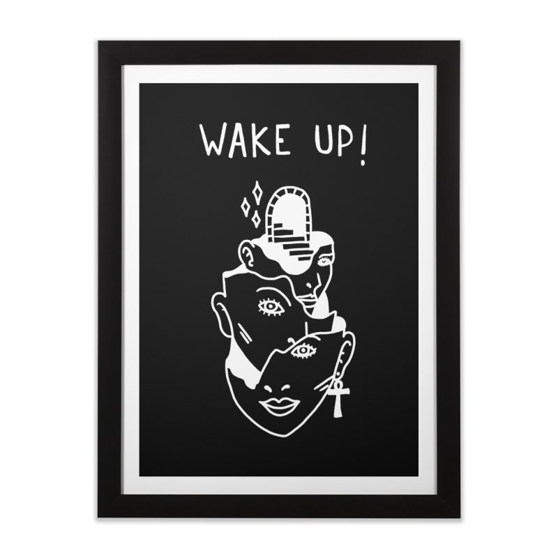 Wake up! Home Framed Fine Art Print by Ertito Montana