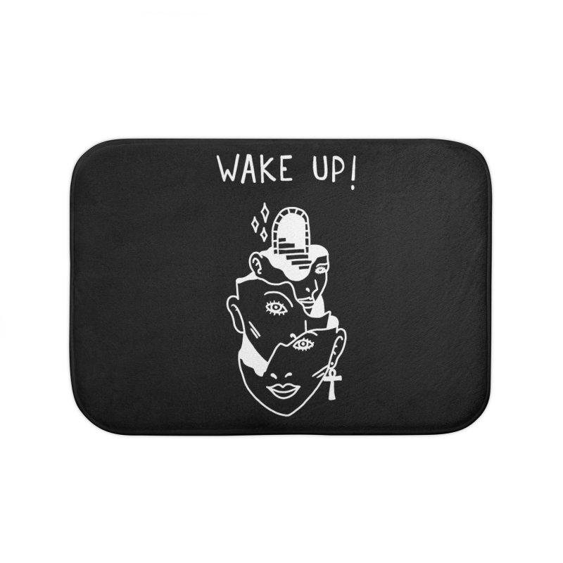 Wake up! Home Bath Mat by Ertito Montana