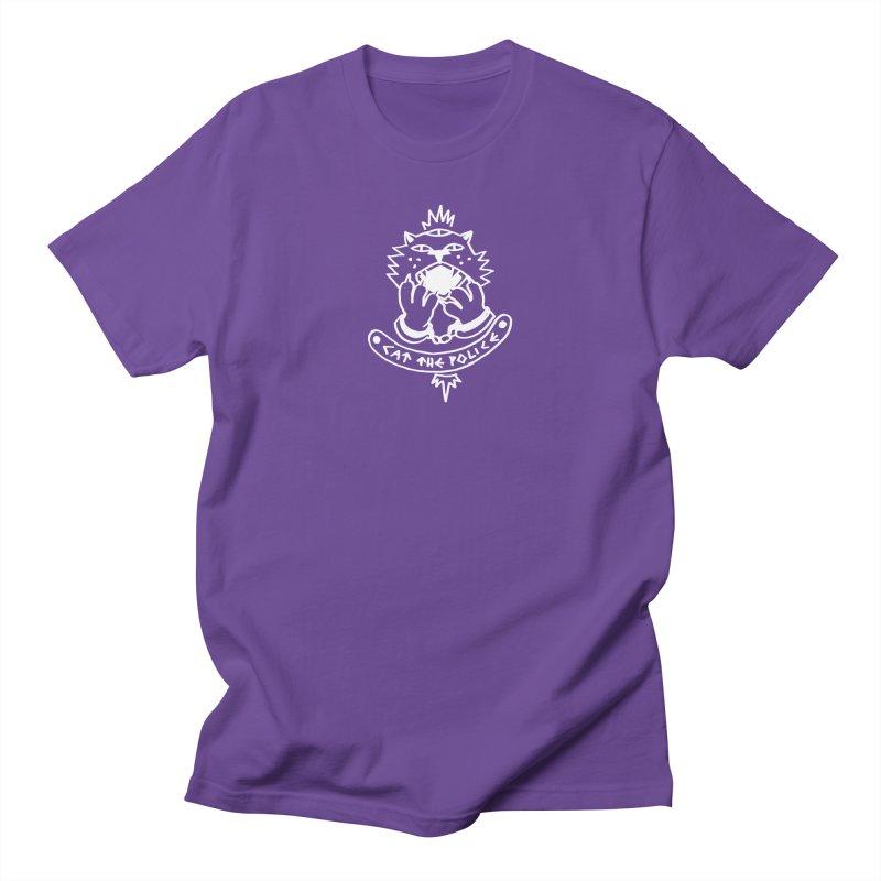 Cat the police Women's Regular Unisex T-Shirt by Ertito Montana
