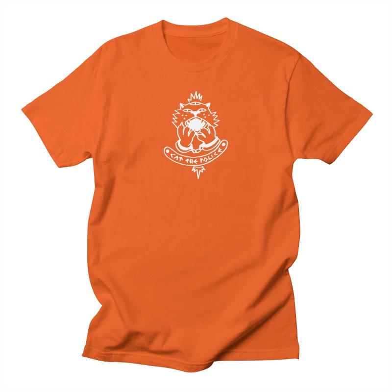 Cat the police Men's Regular T-Shirt by Ertito Montana