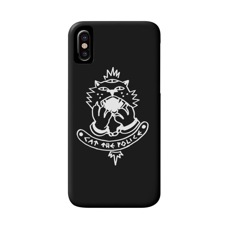 Cat the police Accessories Phone Case by Ertito Montana