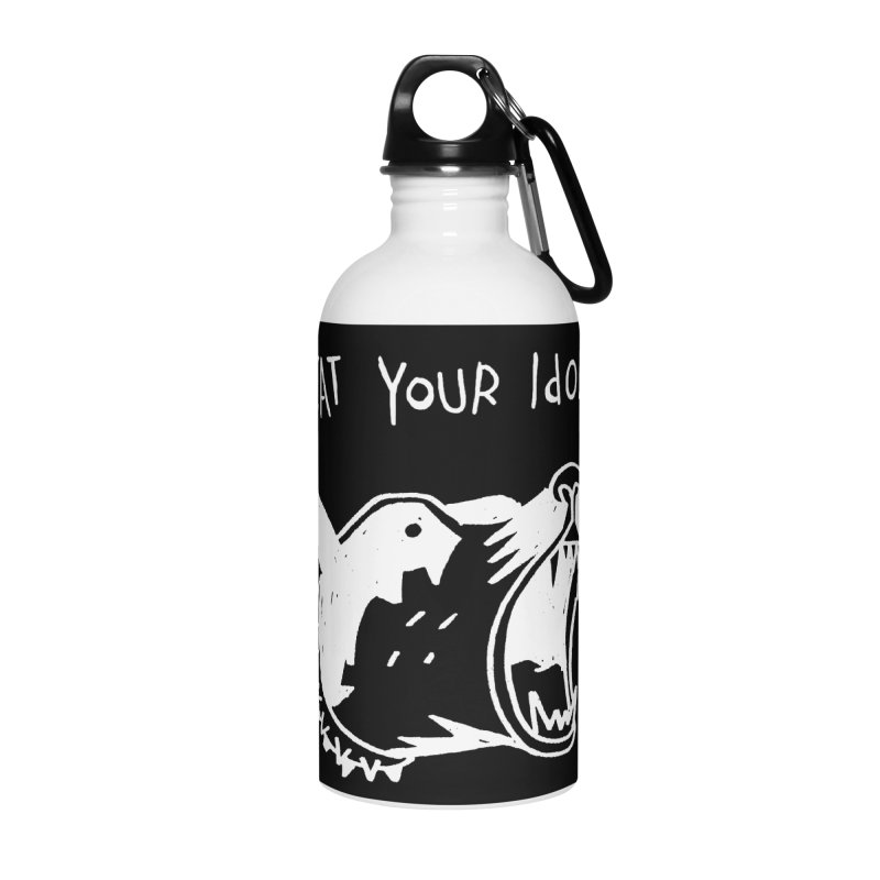 Eat your idols Accessories Water Bottle by Ertito Montana