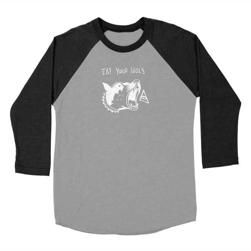 Eat your idols Women's Baseball Triblend Longsleeve T-Shirt by Ertito Montana