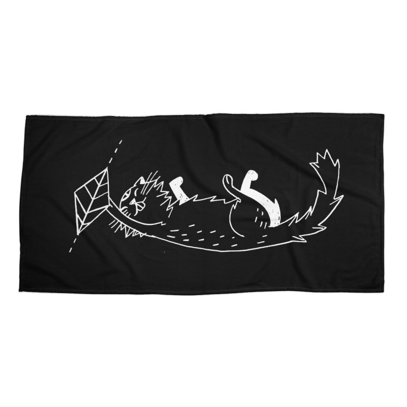 Piramid Cat Accessories Beach Towel by Ertito Montana