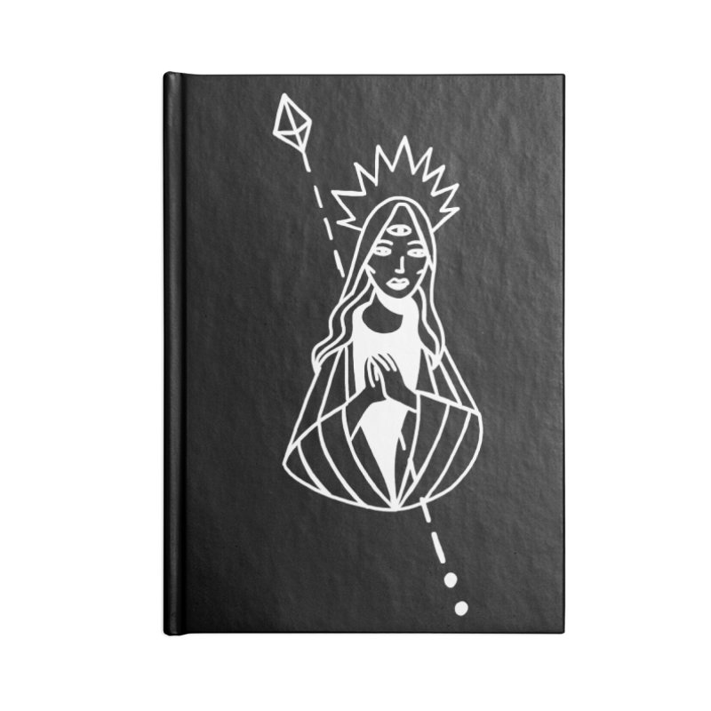 Virgencita Accessories Lined Journal Notebook by Ertito Montana