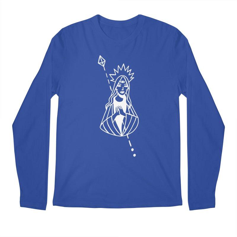 Virgencita Men's Regular Longsleeve T-Shirt by Ertito Montana