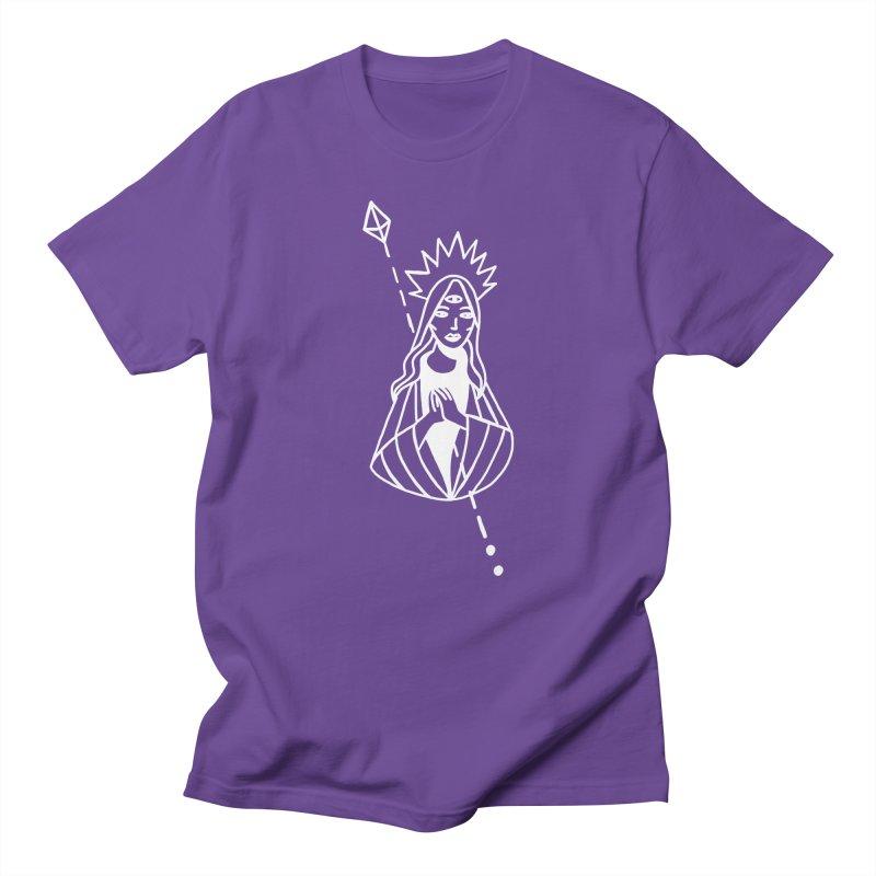 Virgencita Women's Regular Unisex T-Shirt by Ertito Montana