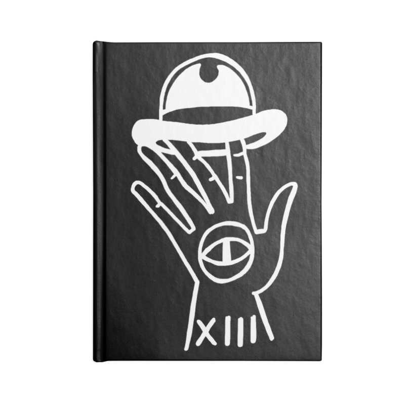 Mano bombin Accessories Lined Journal Notebook by Ertito Montana