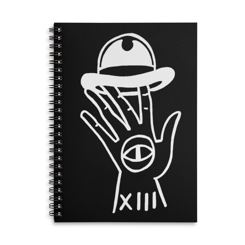 Mano bombin Accessories Lined Spiral Notebook by Ertito Montana