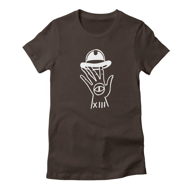 Mano bombin Women's Fitted T-Shirt by Ertito Montana