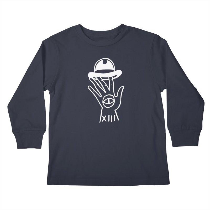 Mano bombin Kids Longsleeve T-Shirt by Ertito Montana