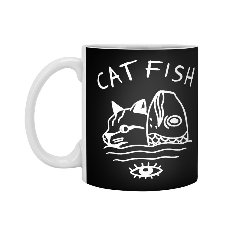 Catfish Accessories Standard Mug by Ertito Montana