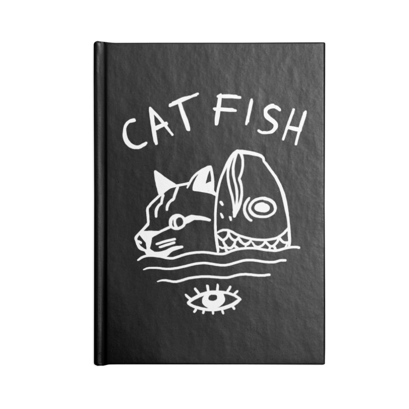 Catfish Accessories Lined Journal Notebook by Ertito Montana