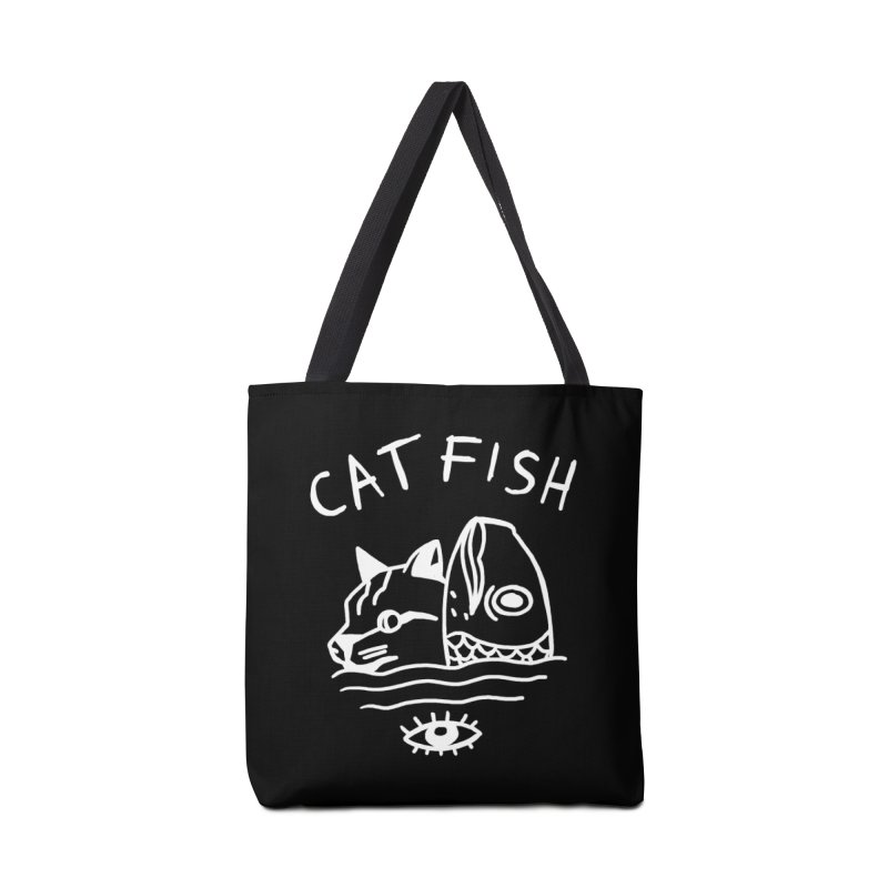 Catfish Accessories Tote Bag Bag by Ertito Montana
